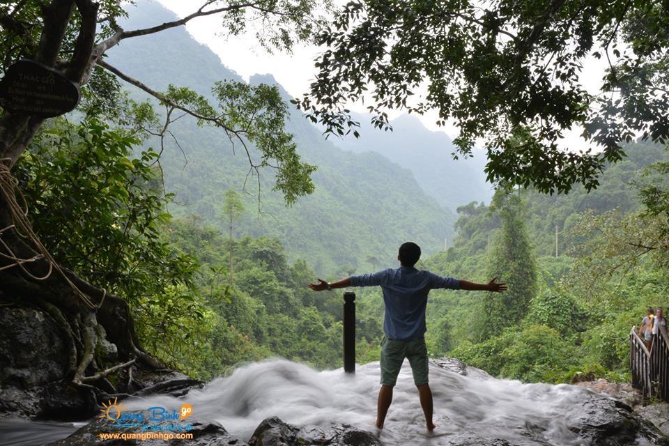 Thác Gió - Vườn thực vật, Phong Nha - Kẻ Bàng - Tour du lịch tốt nhất Quảng Bình go 8