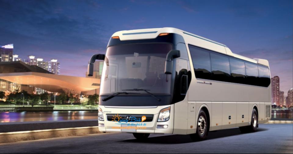 Thuê xe du lịch 45 chổ ngồi tại Đồng Hới - Thông tin, dịch vụ du lịch - Quảng Bình go Huyndai