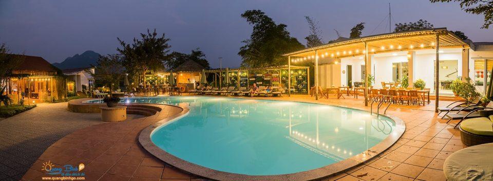Farmstay Chày Lập, Phong Nha - Kẻ Bàng - Thông tin, dịch vụ du lịch - Quảng Bình go - Hồ Bơi