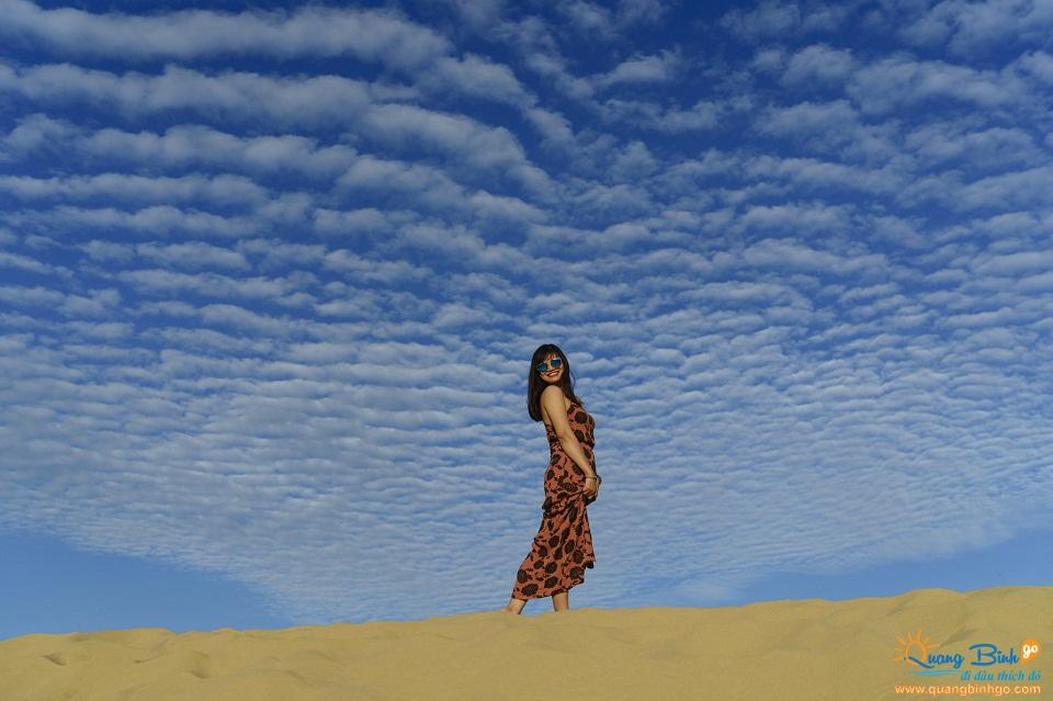 Du lịch Quảng Bình go: Cồn cát Quang Phú 2