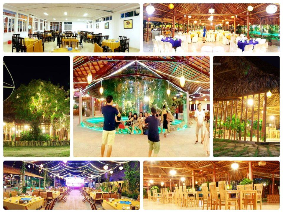 Nhà hàng Lá Cọ Đồng Hới, Quảng Bình - Tour Quảng Bình go