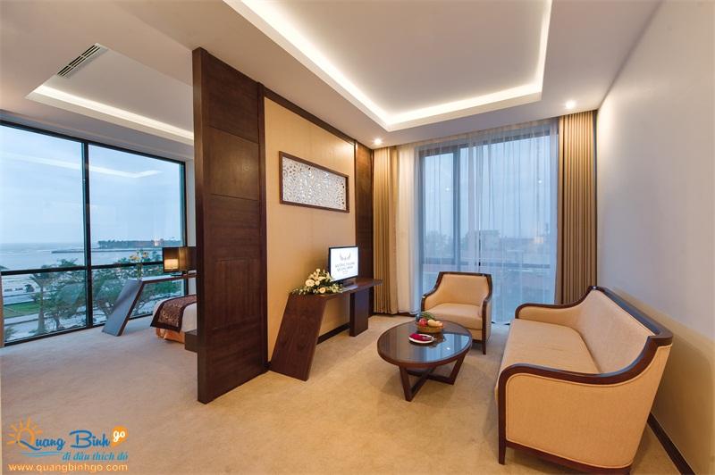 Phòng khách sạn Mường Thanh 4 sao, Quảng Bình - Thông tin, dịch vụ du lịch - Quảng Bình go 5
