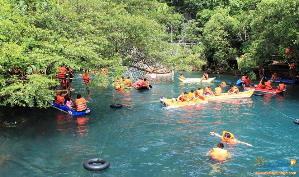 Thông tin, dịch vụ du lịch - Quảng Bình go - Suối Nước Moọc - 12