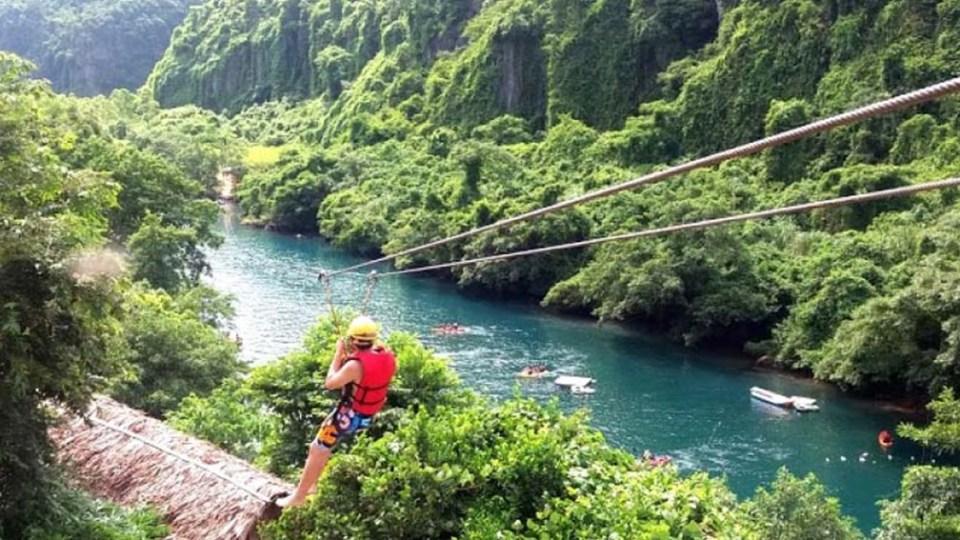 Dark Cave - Chay River Phong Nha - Ke Bang Quang Binh Go 3