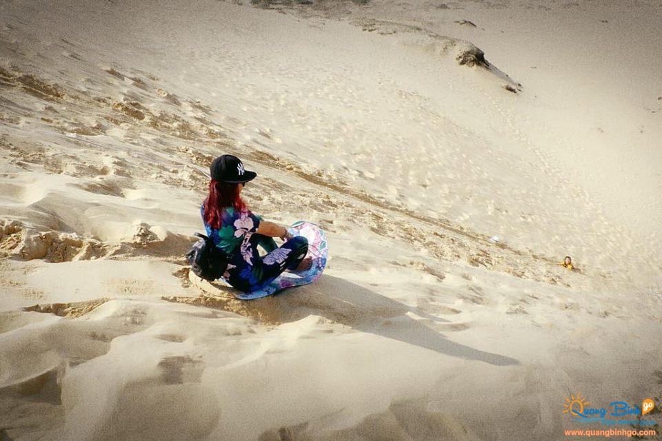 Quang Phu Sand hill, Dong Hoi, Quang Binh Go travel 6