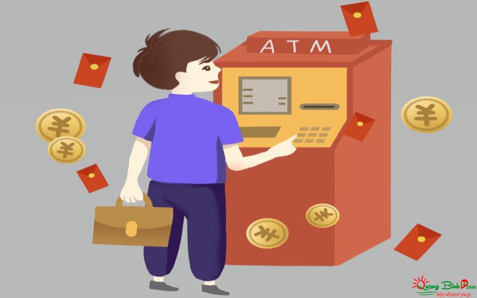 Các cây ATM rút tiền ở Đồng Hới