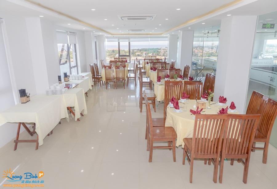 Khách sạn 3 sao Anh Linh 2, Đồng Hới, Quảng Bình, KV Nhà Hàng 2