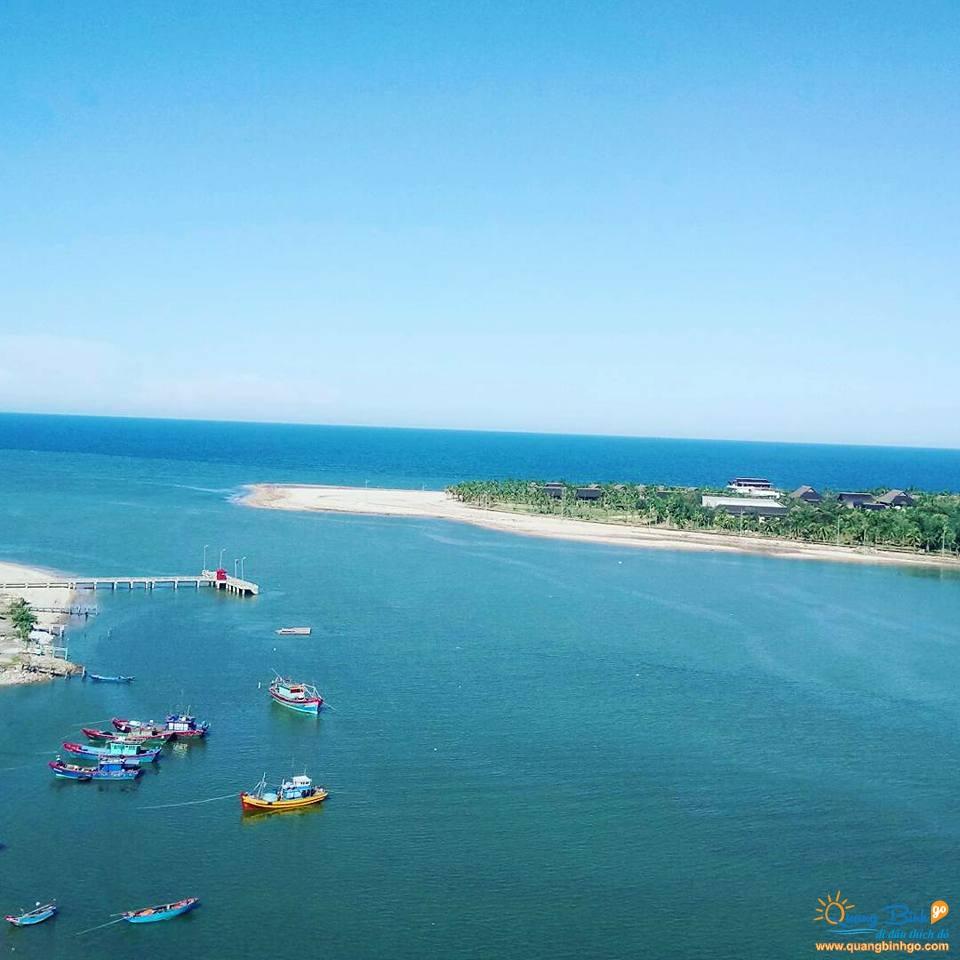 Khách sạn 3 sao Anh Linh 2, Đồng Hới, Quảng Bình, view biển Nhật Lệ