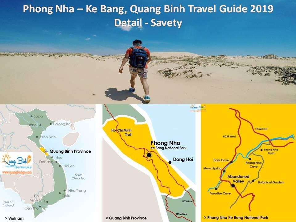 Phong Nha - Ke Bang, Quang Binh travel guide detail savety