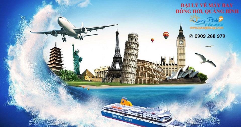 Đại lý vé máy bay Đồng Hới, Quảng Bình 1