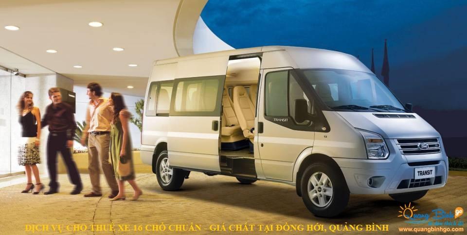 cho thuê xe Ford Transit 16 chổ Đồng Hới, Quảng Bình 1