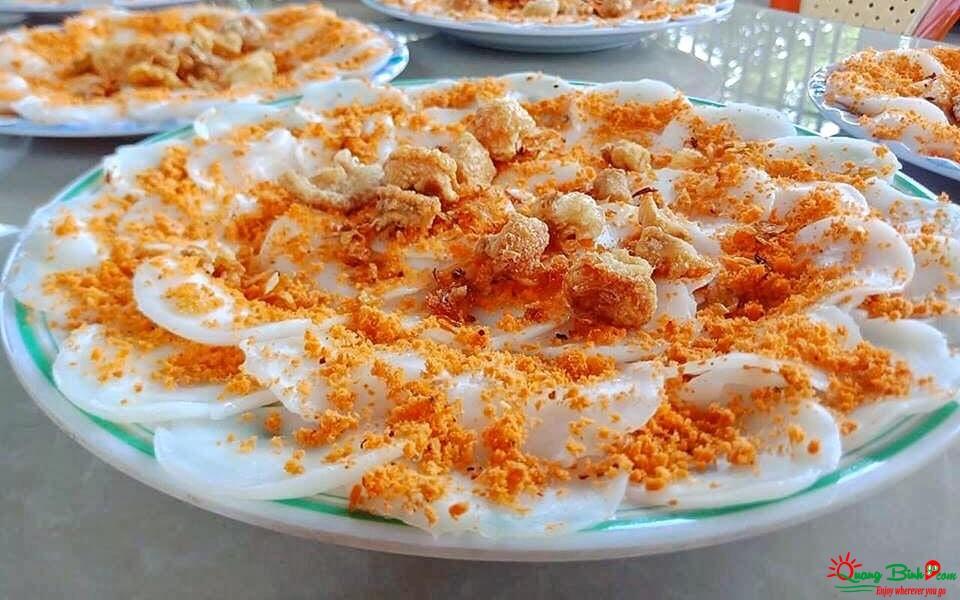 Bánh bèo dĩa ngon Quảng Bình