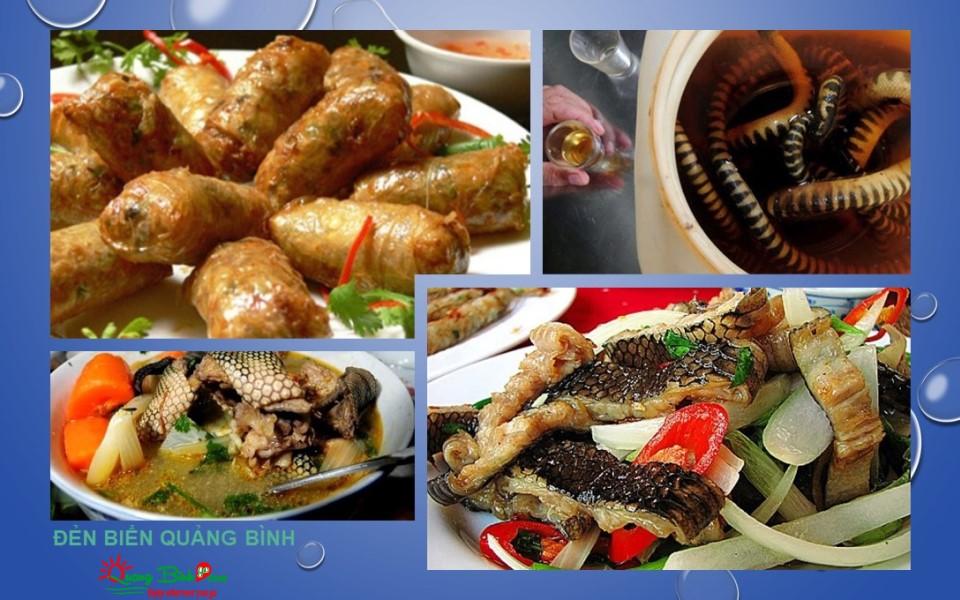 Đẻn biển Đồng Hới, seafood Quang Binh