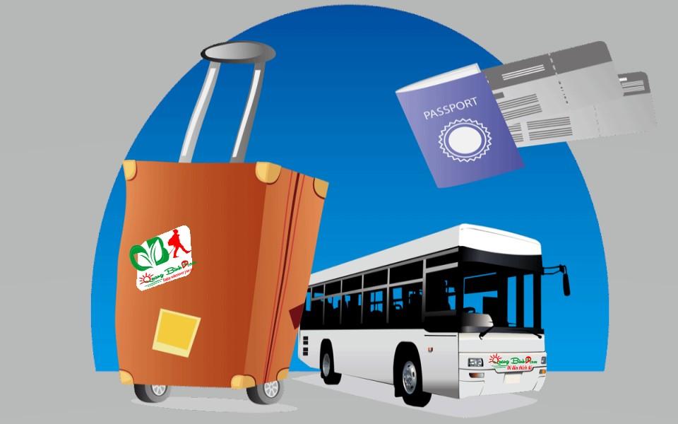 Kinh Nghiệm du lịch Quảng Bình travel experience, xe Bus