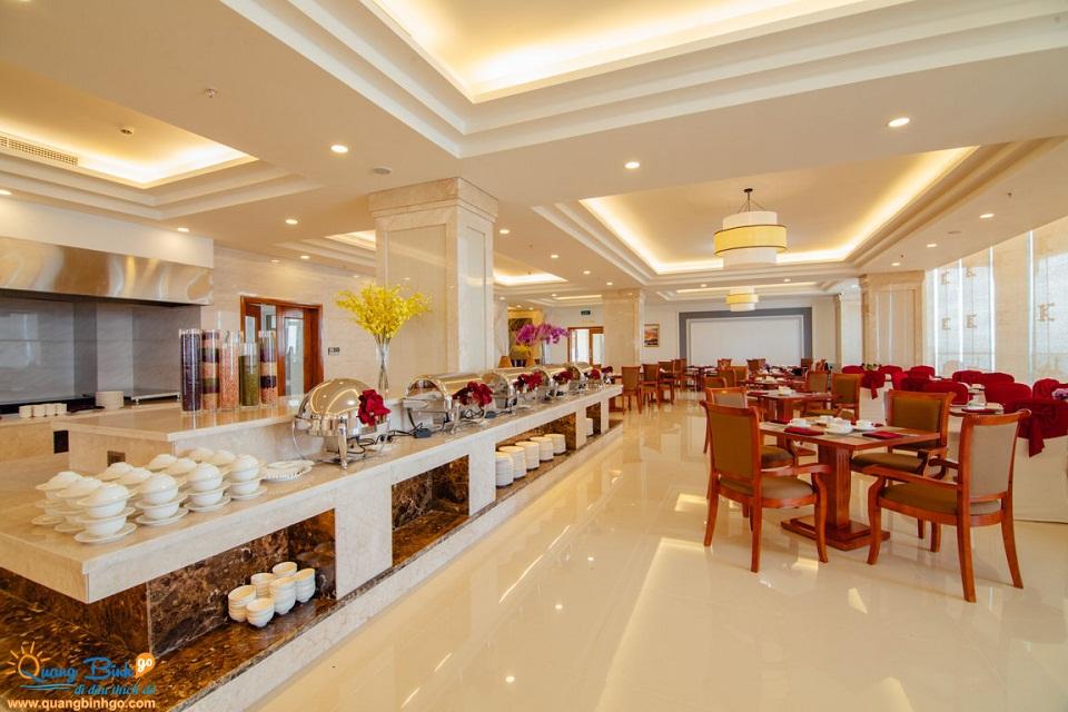 Khách sạn Biển Vàng, Quảng Bình, khu nhà hàng 1