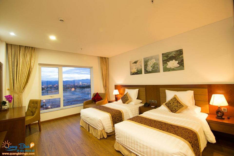 Khách sạn Biển Vàng, Quảng Bình, phòng nghỉ 1