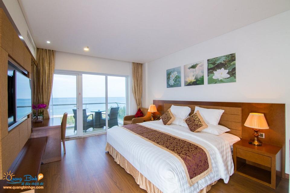Khách sạn Biển Vàng, Quảng Bình, phòng nghỉ 2