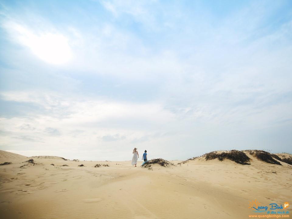 Cồn cát Đồng Hới tour du lịch Quảng Bình