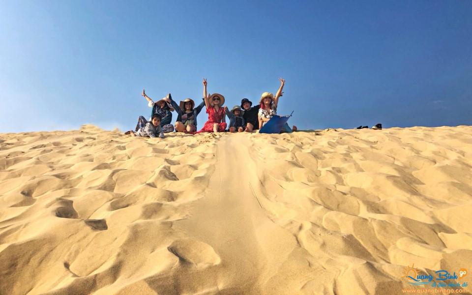 Cồn cát Quang Phú, Đồng Hới, Quảng Bình Go travel