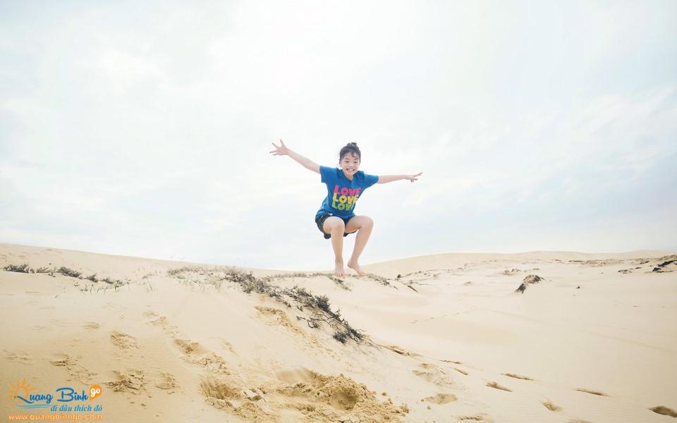 Cồn cát Quang Phú, Đồng Hới, Việt Nam