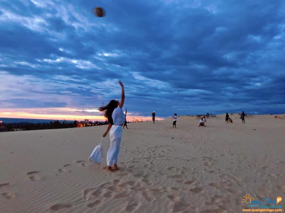Điểm du lịch cồn cát Quang Phú, Đồng Hới