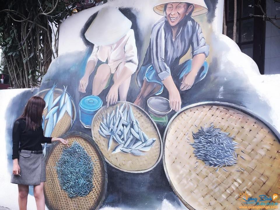 Làng bích họa Cảnh Dương, Quảng Bình