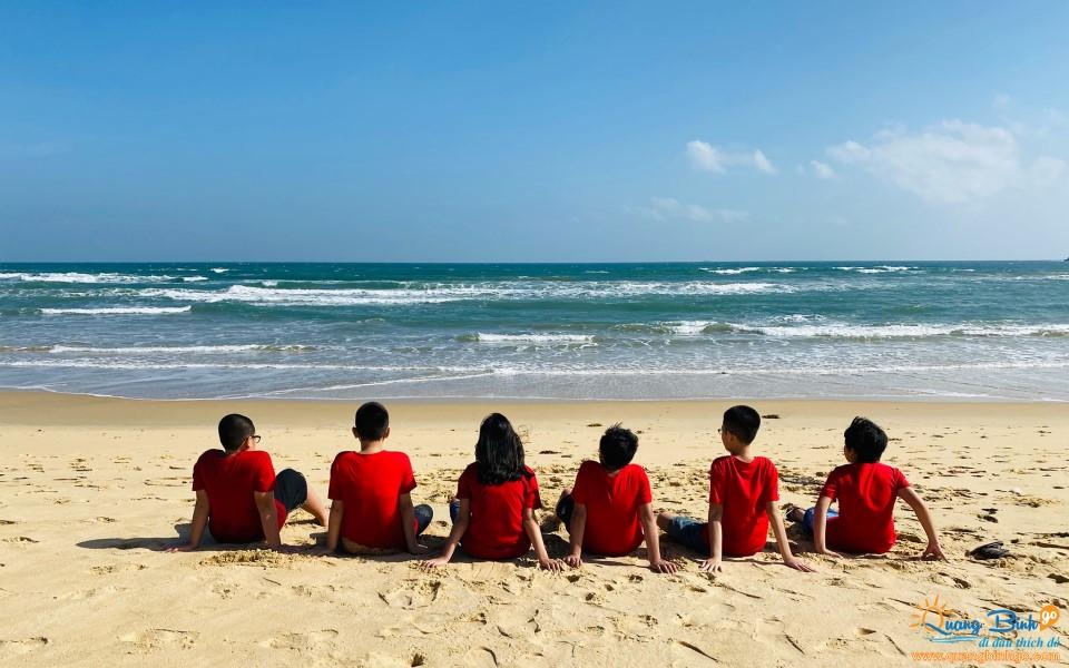 Nhat Le beach, Dong Hoi, Quang Binh