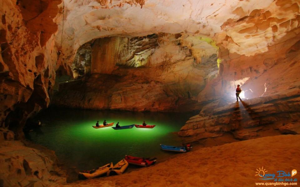 Quang Binh Phong Nha cave expedition tour 4,5km