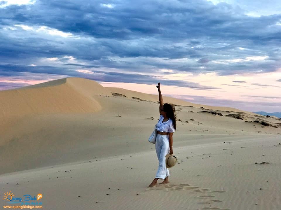 Quảng Bình tour cồn cát Quang Phú Đồng Hới