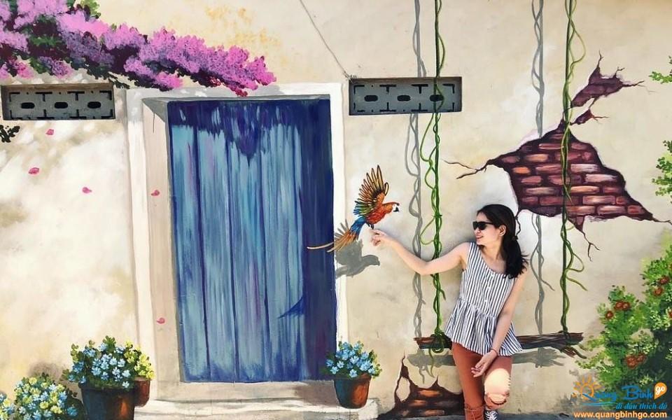 Quảng Bình tour làng bích họa Cảnh Dương