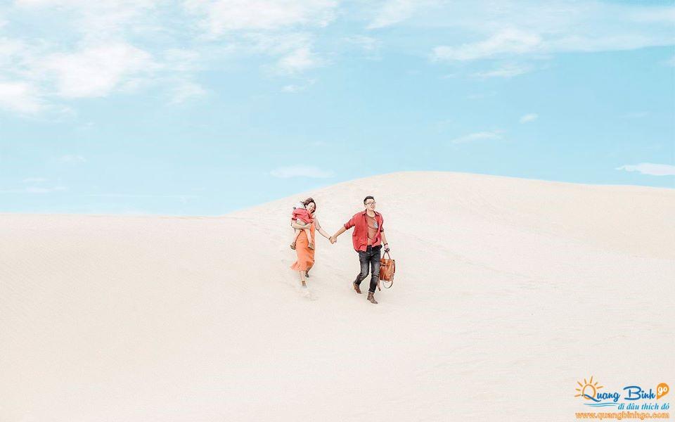 Sand dune Dong Hoi city tour Quang Binh Go