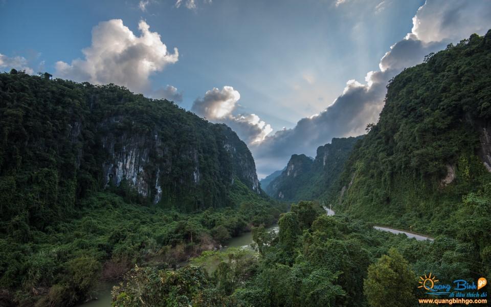 World heritage site of Phong Nha Ke Bang