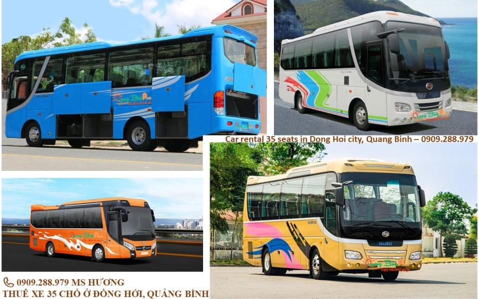 Car rental 35 chổ thuê xe du lịch Quảng Bình