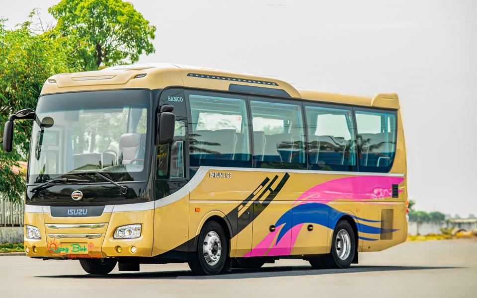 Car rentals 35 chổ thuê xe tại Quảng Bình