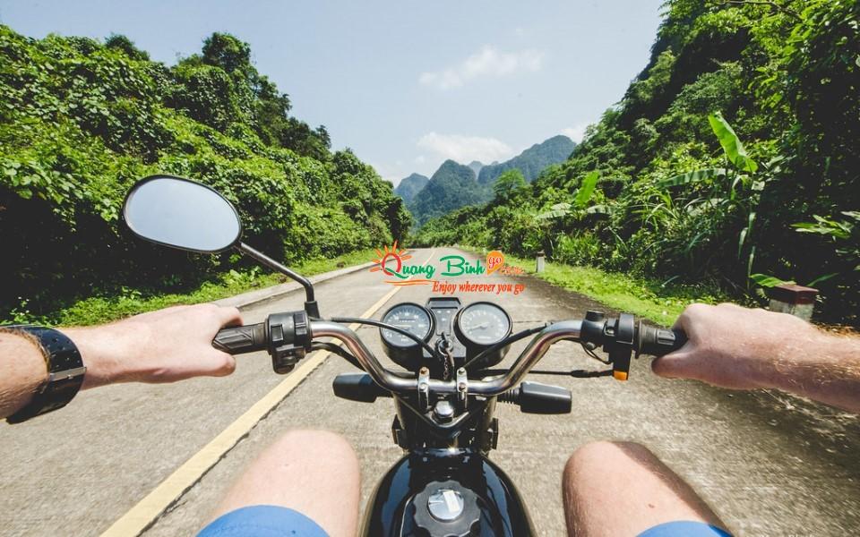 Cho thuê xe máy ở Đồng Hới motorbike rental