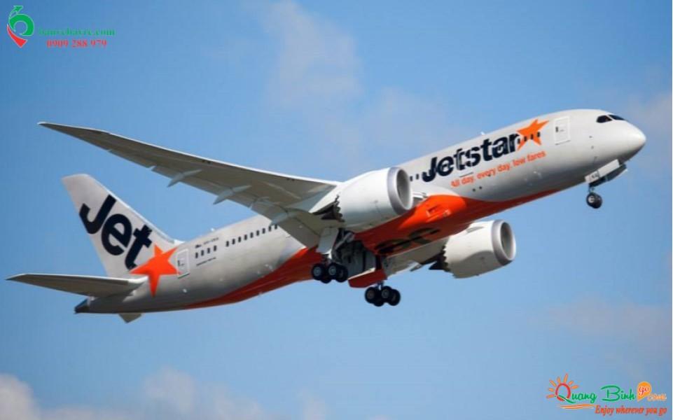 Đại lý vé máy bay rẻ tại Quảng Bình Jetstar