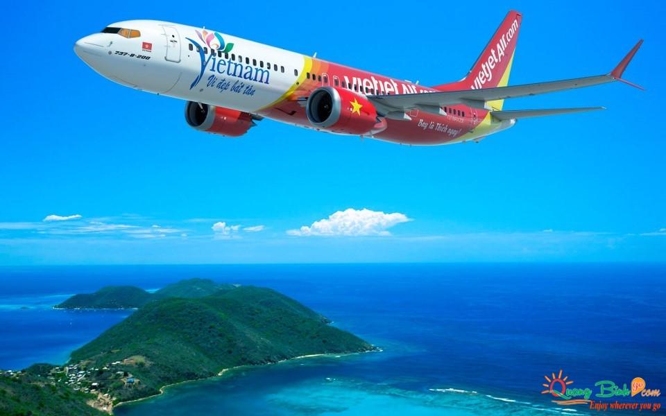 Đại lý vé máy bay rẻ tại Quảng Bình Vietjet