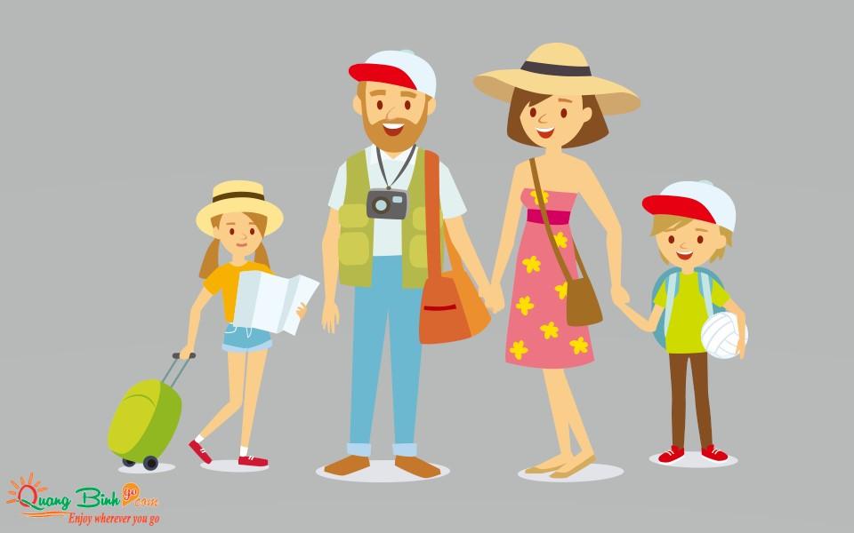 Gia đình chuẩn bị đi du lịch Quảng Bình Go