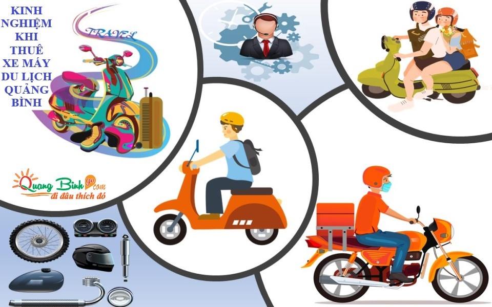 Kinh nghiệm khi thuê xe máy du lịch Quảng Bình