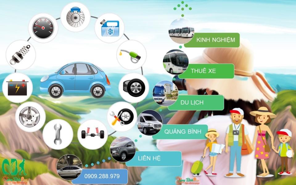 Kinh nghiệm thuê xe du lịch Quảng Bình car rental