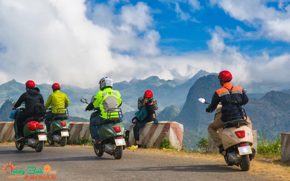 Motorbike rental Quang Binh, thuê xe máy