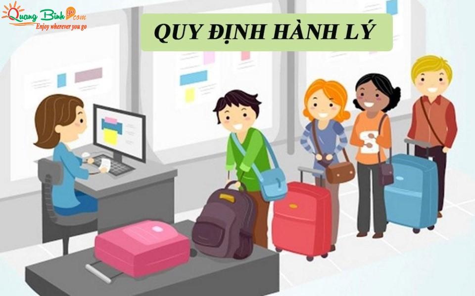 Quy định hành lý đi máy bay của hàng không