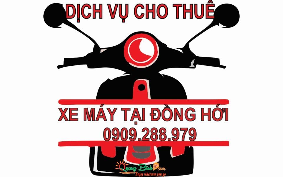 Thuê xe máy tại Đồng Hới, Quảng Bình motorbike rental