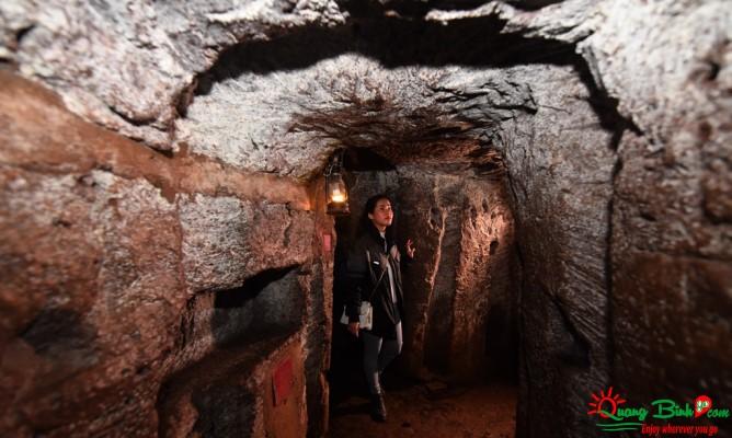 Địa đạo Vịnh Mốc tunnels tour Quảng Bình Go