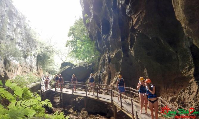Du lịch Phong Nha, hang Tối, Dark cave tourism