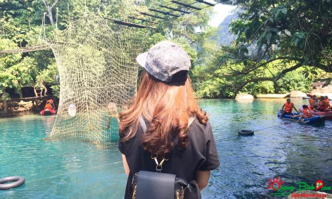 Du lịch Phong Nha, suối Mooc spring Quảng Bình