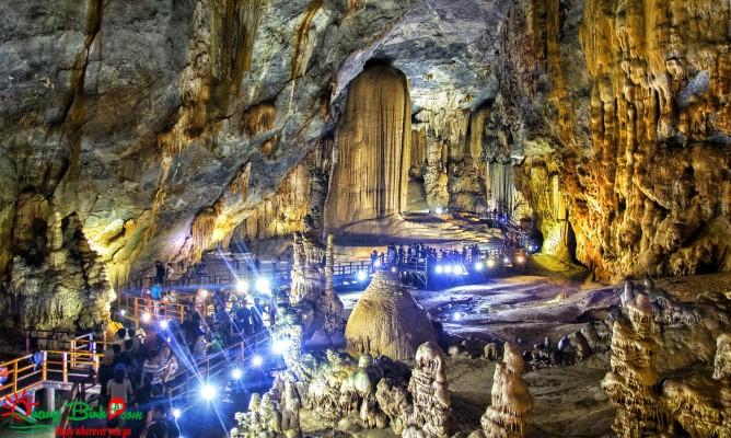 Paradise cave tour Phong Nha, động Thiên Đường