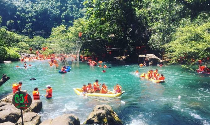 Quảng Bình tour suối Mooc spring Phong Nha