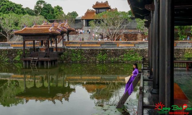 Tour Huế lăng Tự Đức tomb, Quang Binh Go Travel
