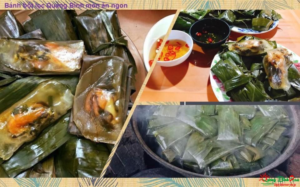 Bánh lọc lá Quảng Bình món ăn ngon ở Đồng Hới